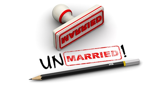unmarried stamp