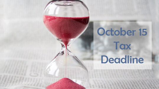 october 15 tax deadline